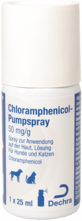 Chloramphenicol-Pumpspray 50 mg/g