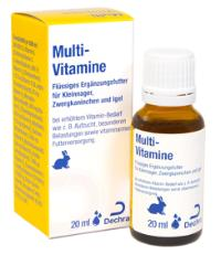 Multi-Vitamine Kleinnager