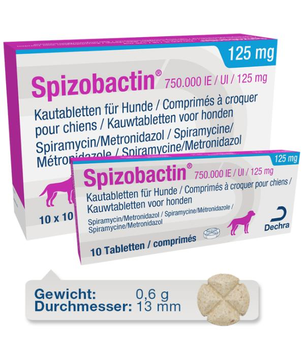 Spizobactin 750.000 IE / UI / 125 mg