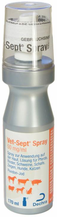 Vet-Sept Spray 50 mg/ml