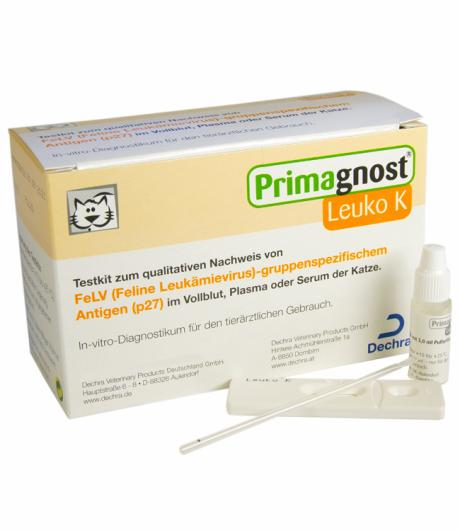 Primagnost® Leuko K (FeLV-Test)